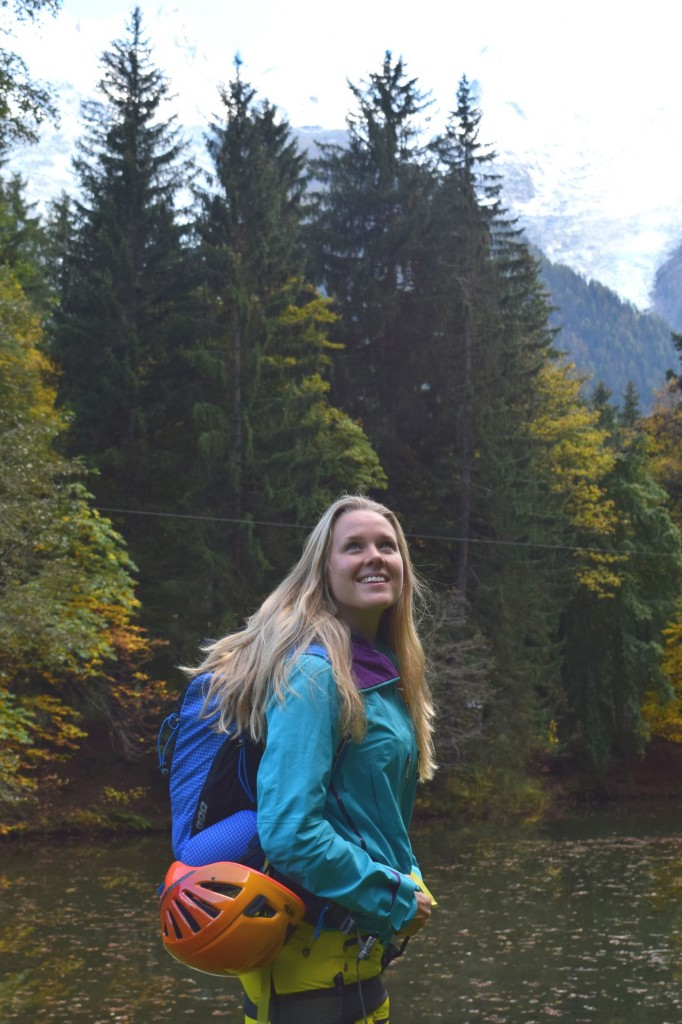 Sophie Radcliffe, Chamonix