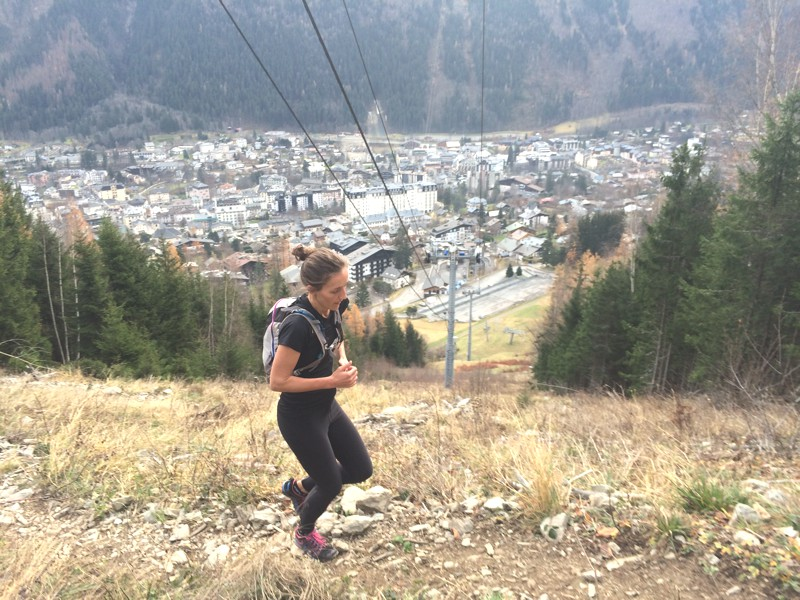 Running The Vertical KM Chamonix