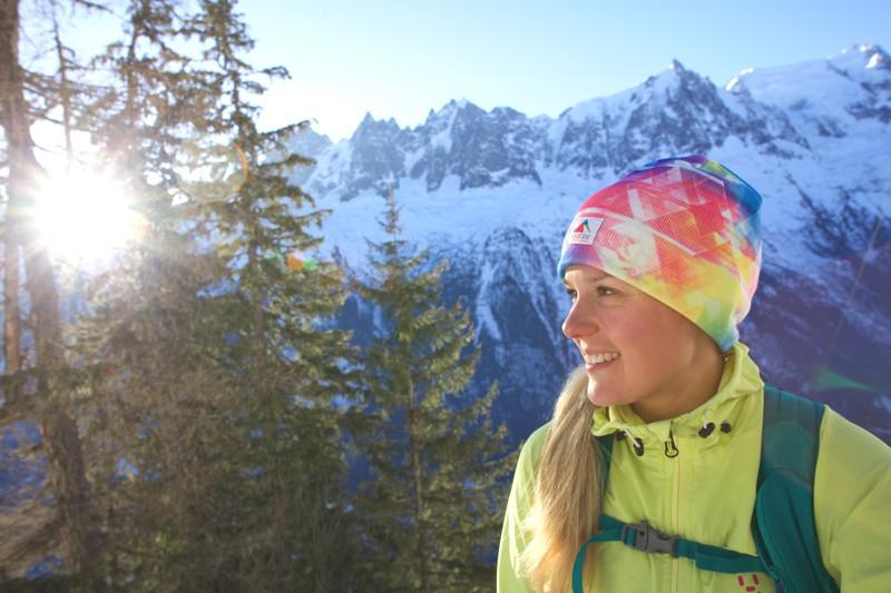 Sophie radcliffe, Challenge SophieVertical Kilometre Chamonix