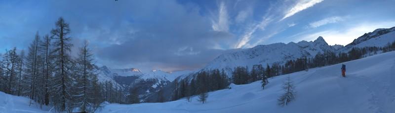 Sunrise ski tour, Chamonix Sophie Radcliffe