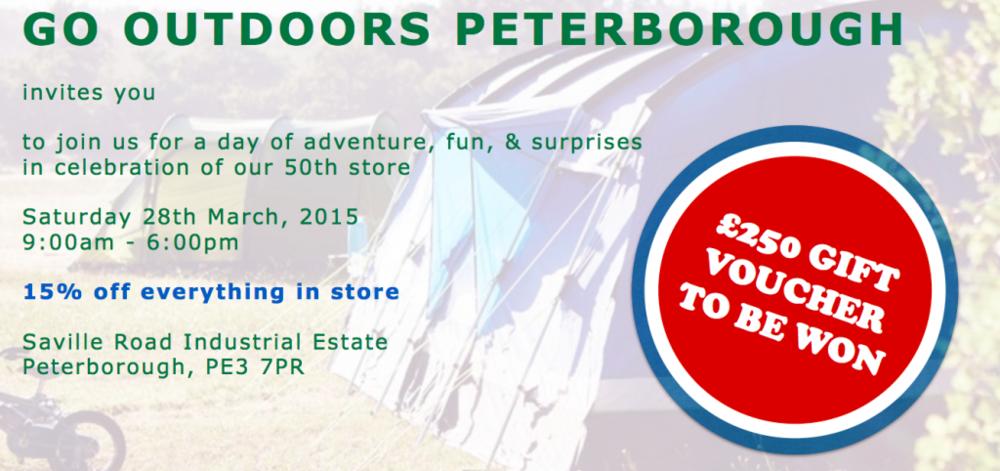 go outdoors peterborough