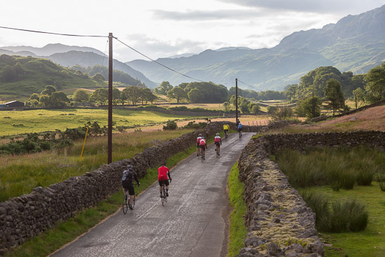 Coast to Coast in a day, cycling challenge