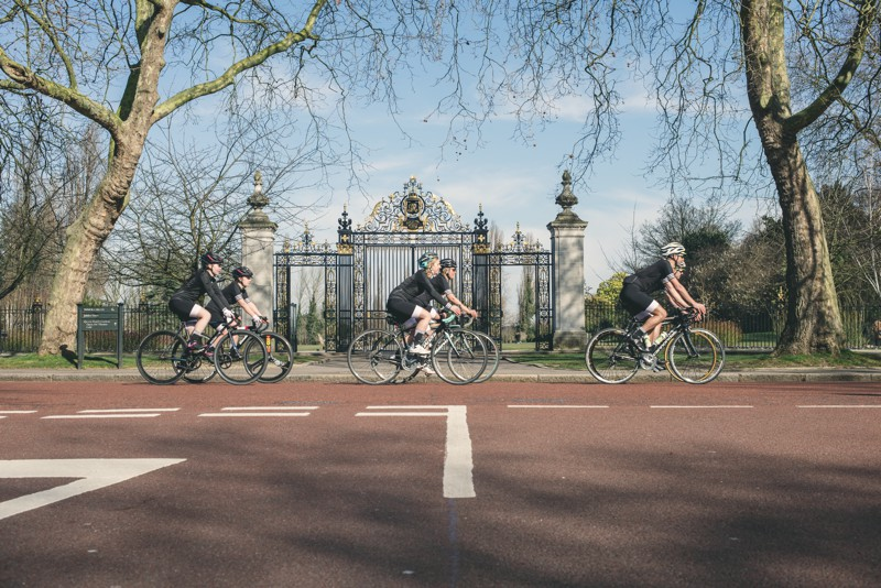 Adidas own the road, cycling challenge