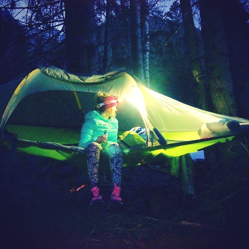 Tentsile - wild camping, Chamonix
