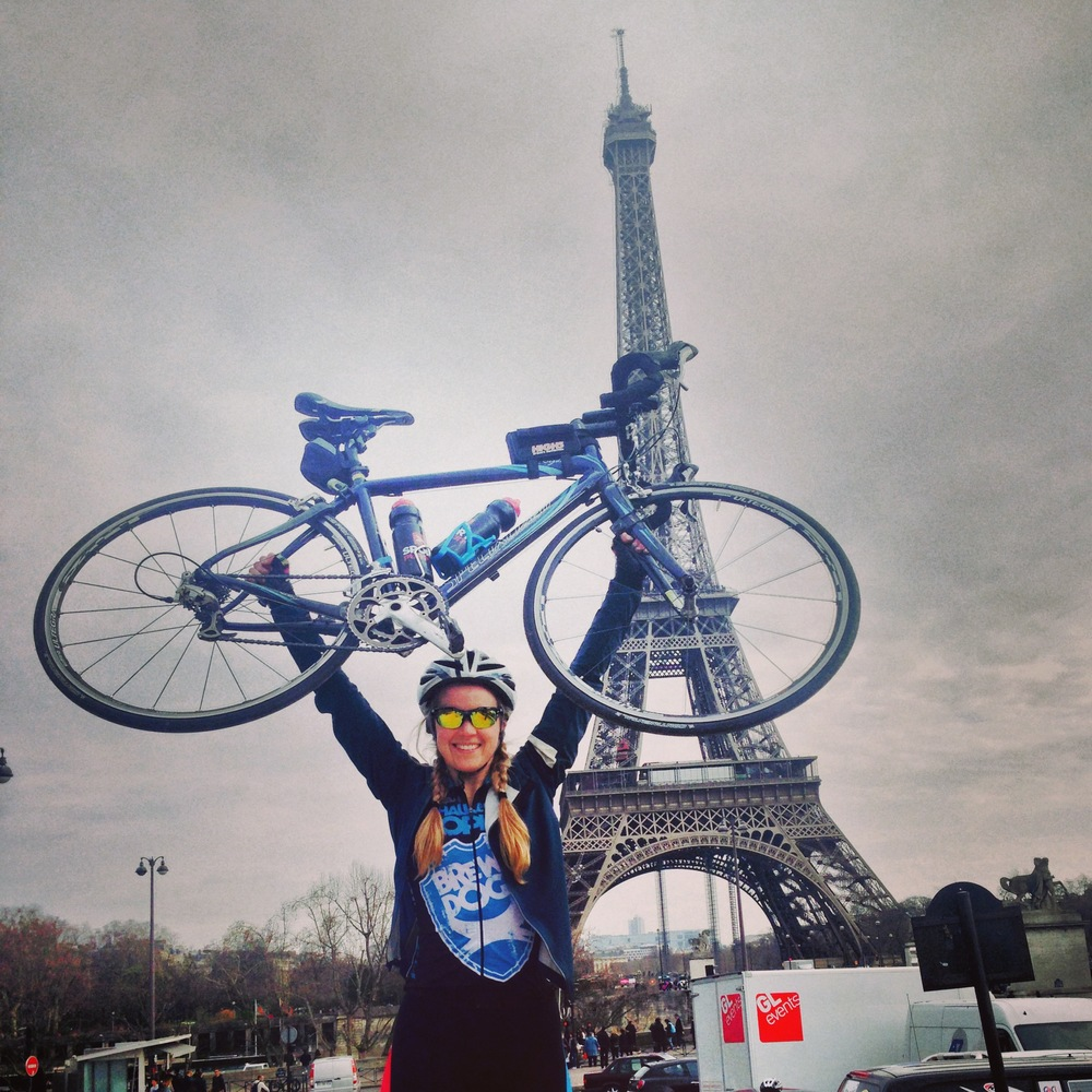CYCLING LONDON TO PARIS IN 24HRS