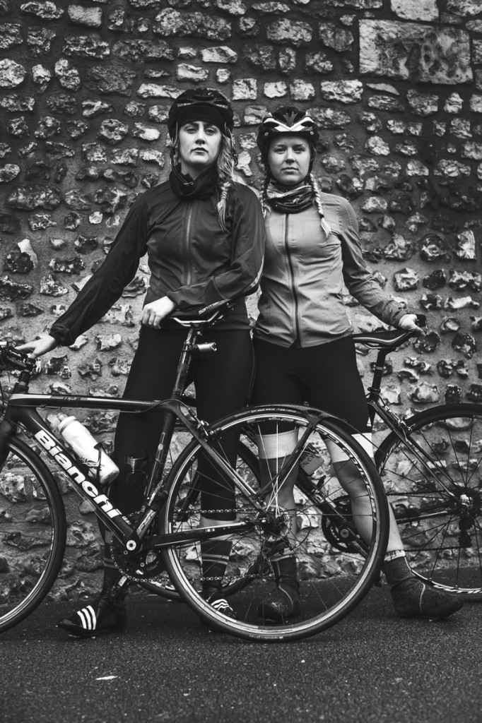 Cycling London to Paris 24 hours Challenge Sophie sportive