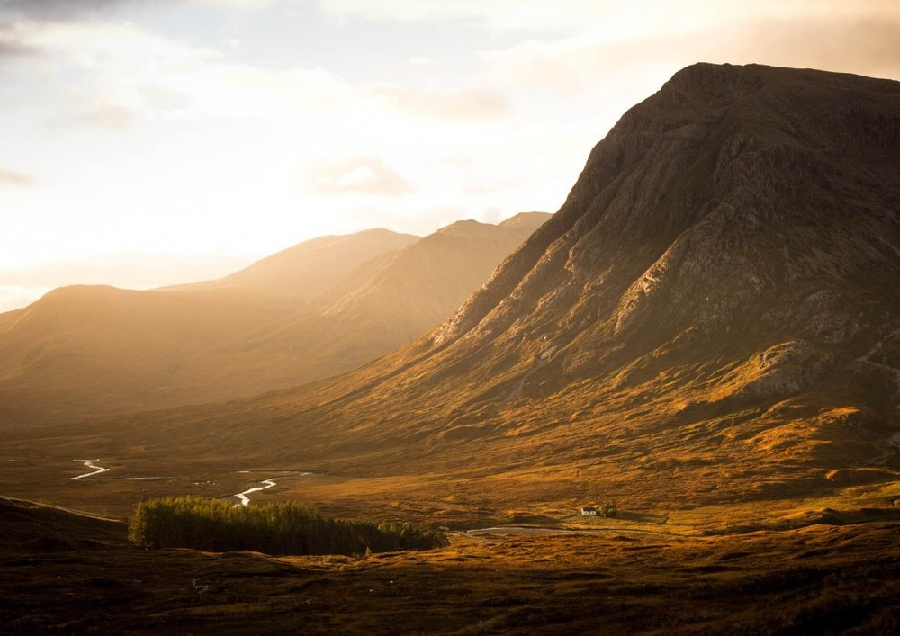 sunrise scotland glen coe adventure