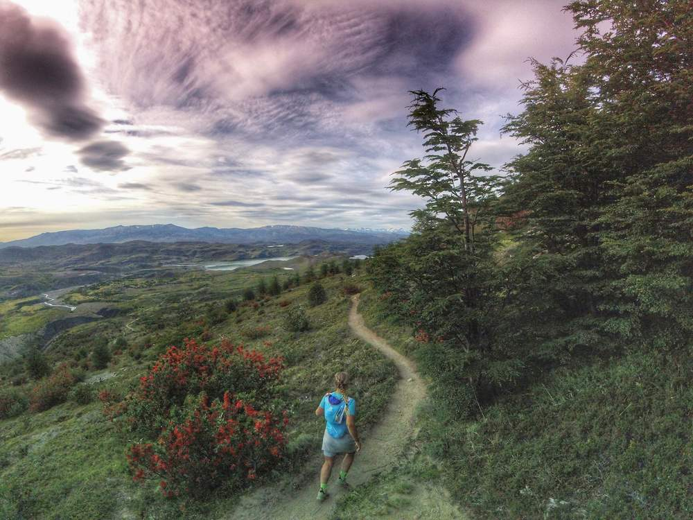 Torres del Paine, Patagonia trail running. Sophie Radcliffe