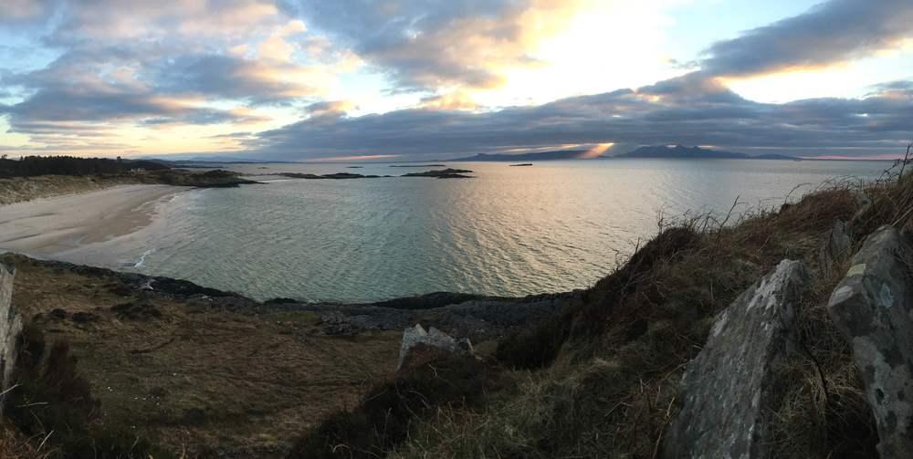 Wild camping, Scotland