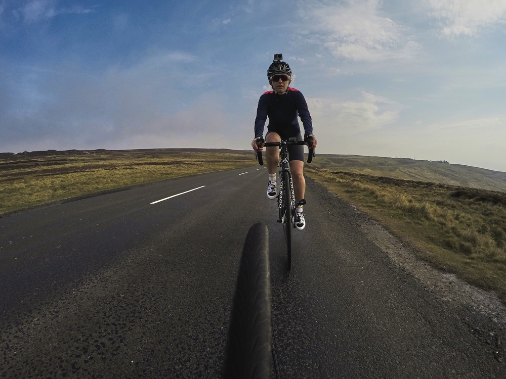 GoPro Coast to Coast Cycling Sophie Radcliffe