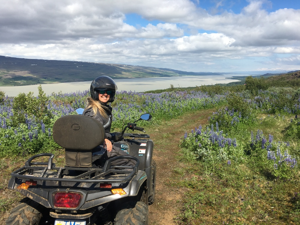 Sophie Radcliffe Discover The World East Iceland Quad Biking