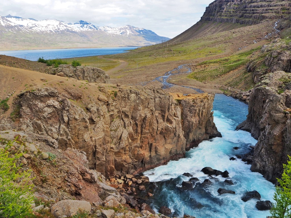Sophie Radcliffe Discover The World East Iceland Waterfall