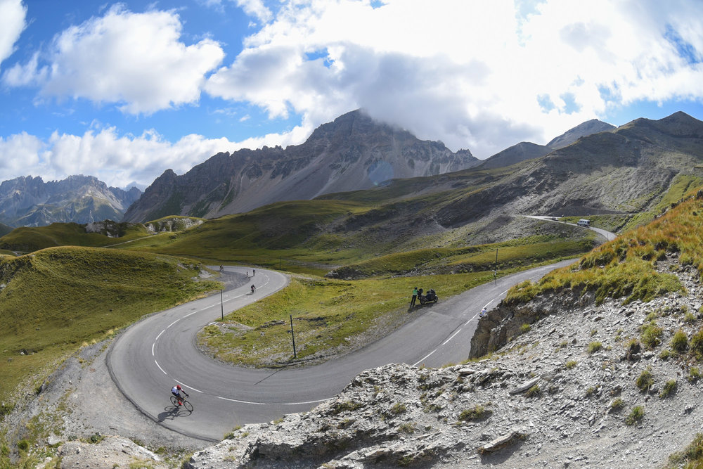 Sophie Radcliffe, Cycling the Haute Route Alps