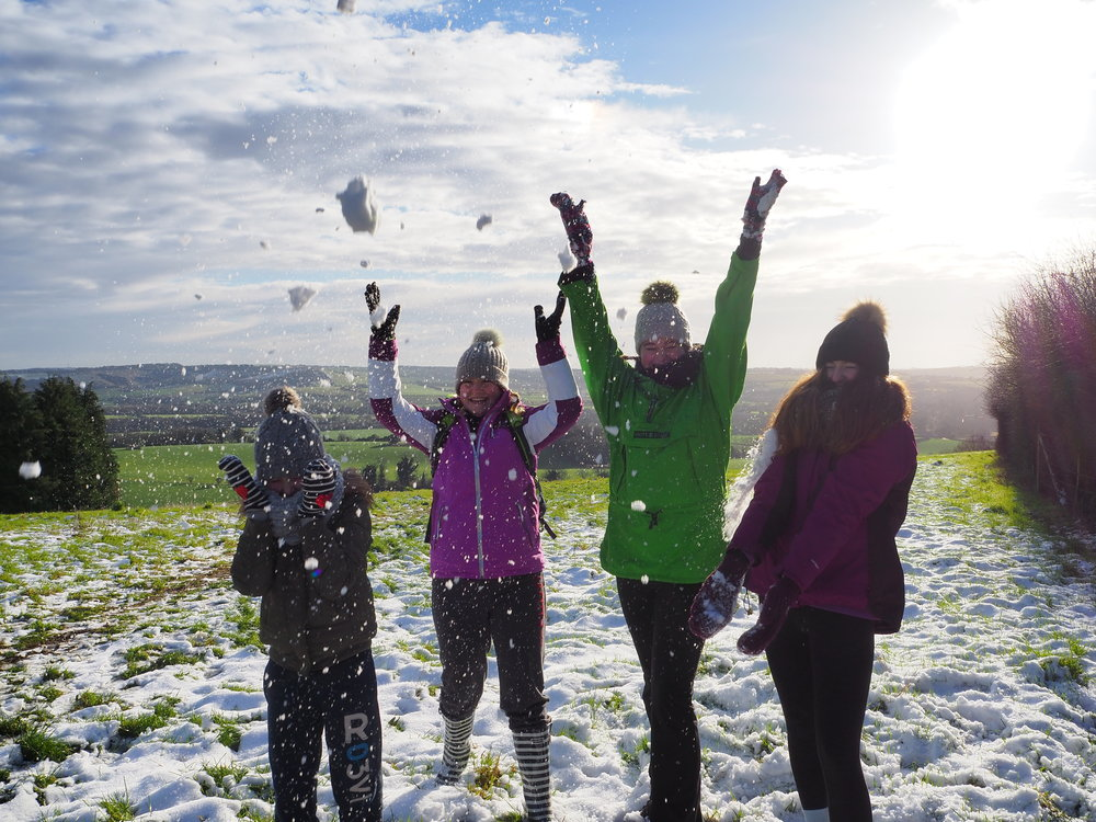 escape the city family adventure south downs beacon hill