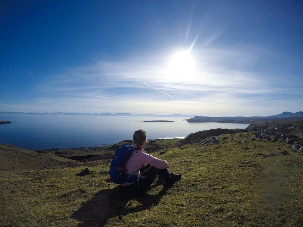 sophie radcliffe challenge sophie skye, scotland