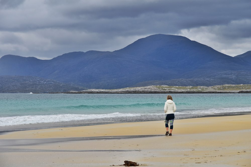 Luskentyre Beach, Isle of Harris Outer Hebrides, Scotland Adventure