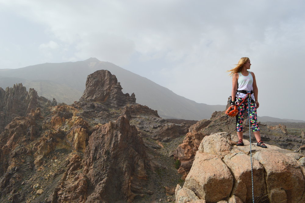 Sophie Radcliffe Challenge Sophie Mount Teide Tenerife