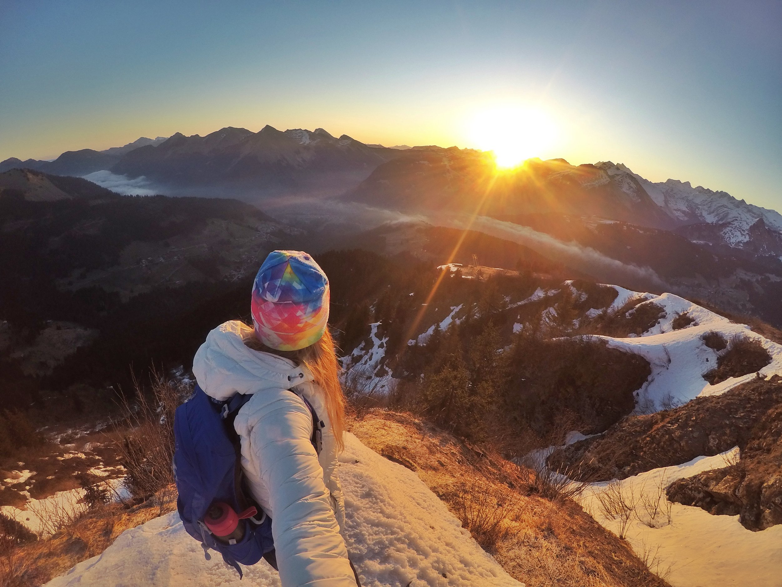 A week as a Digital Nomad. Action Academy, Morzine