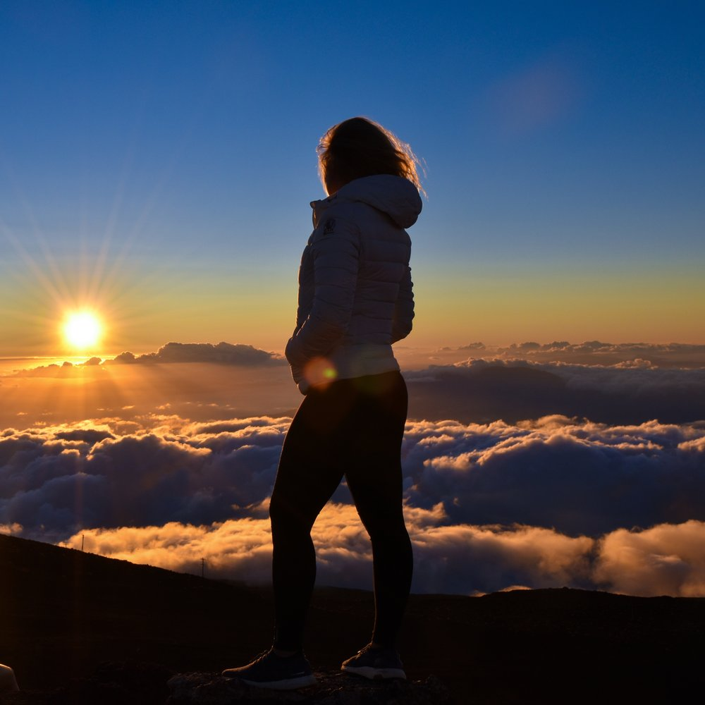 Sunrise on Haleakala, Maui