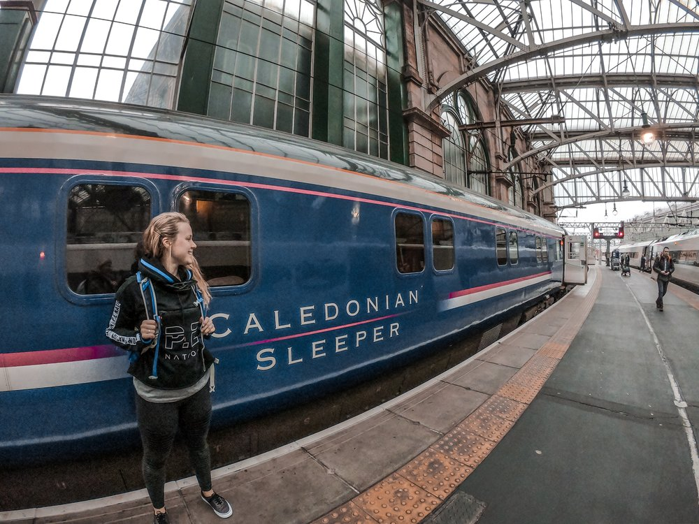 Sleep, stress and success, Challenge Sophie Blog. Caledonian Sleeper Scotland