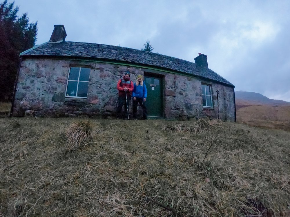 A' Chuil Bothy. Glen Coe, Scotland Road Trip, Mini Country Man, Sophie Radcliffe