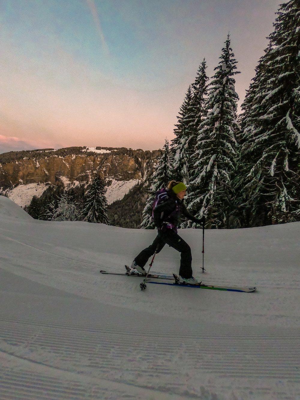 Morzine, Skiing, adventure sports, Challenge Sophie, Sophie Radcliffe