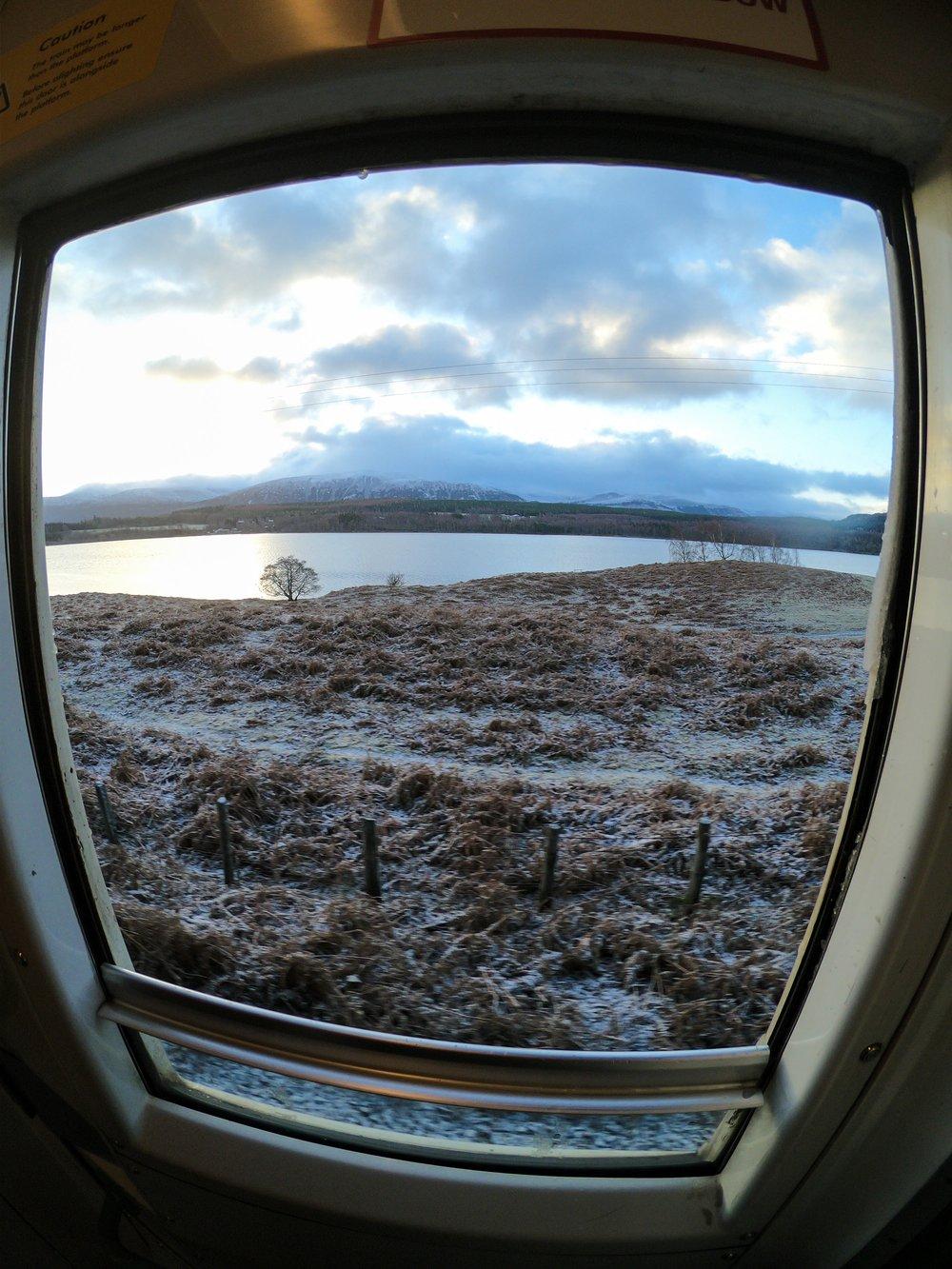 Caledonian Sleeper Train Scotland, adventure, sophie radcliffe