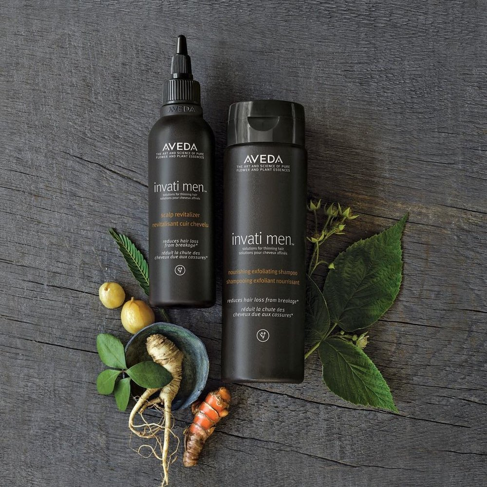 Invati Men (Source: Aveda)