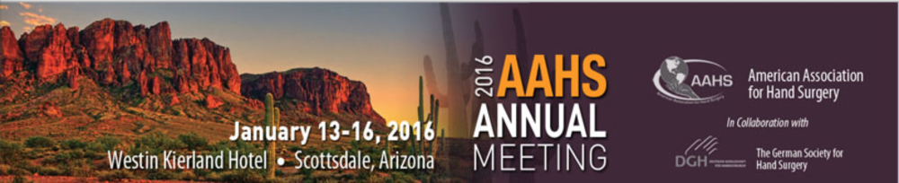 2016 AAHS Annual Meeting