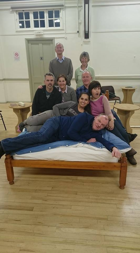 Cast of Bedroom Farce