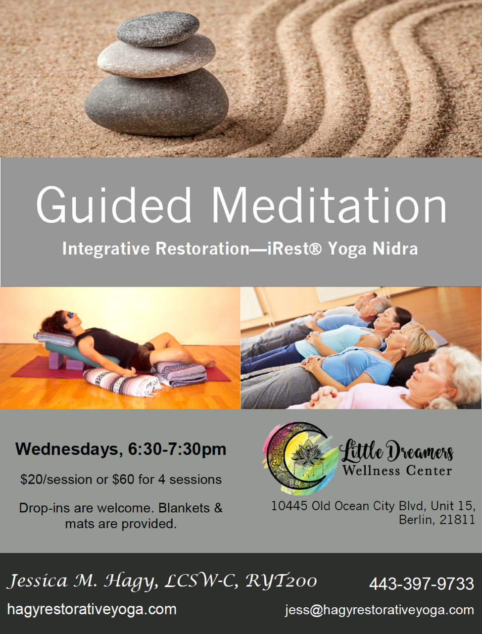 Guided Meditation Irest Yoga Nidra Jessica Hagy Restorative Yoga