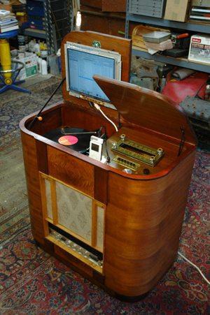 Old DJ setup