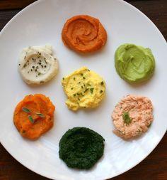 Tahini & Vegetable Purees