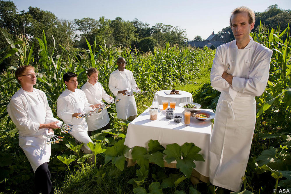 Chef Daniel Barber, Blue Hill Restaurant, New York