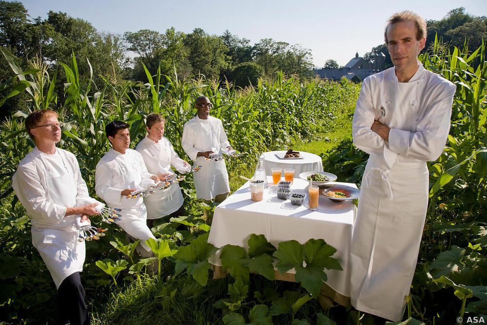 Chef Daniel Barber, Blue Hill Restaurant,New York