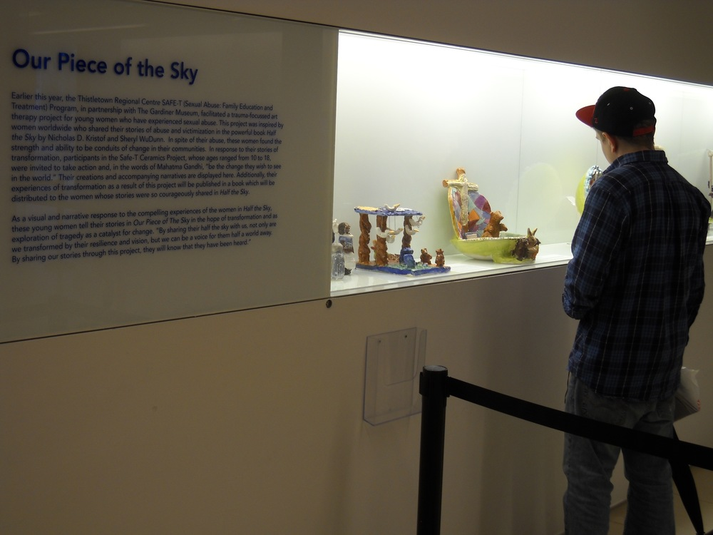Half the Sky Exhibit, Gardiner Museum (2011)