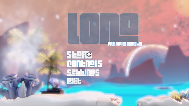 Lono Title Screen