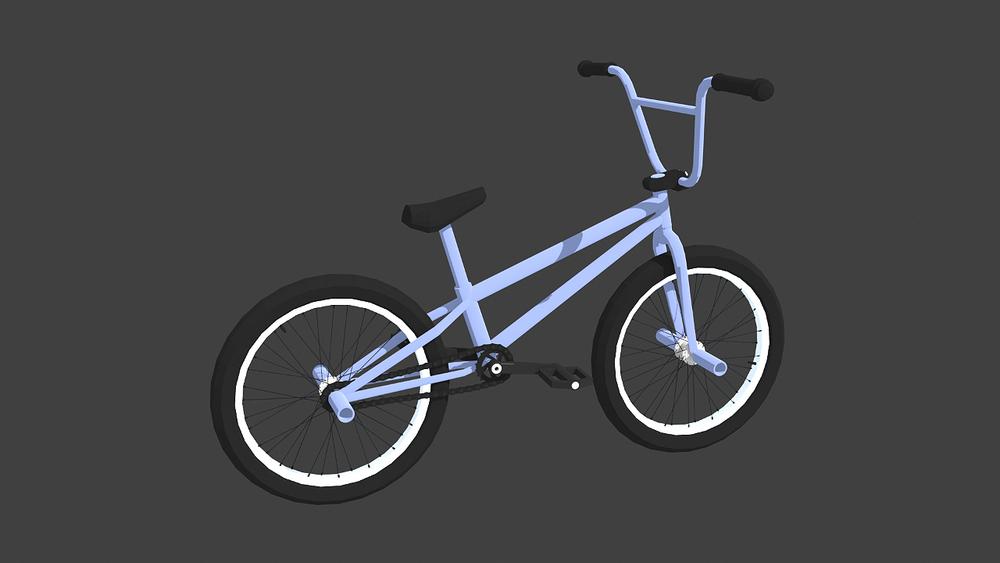 Proto92 - 3d Bike Target Render