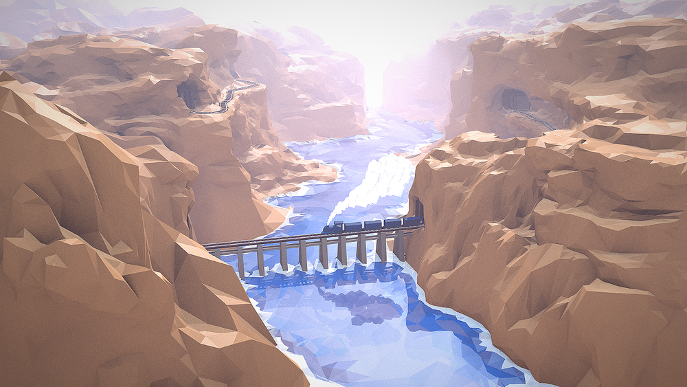 WIP - Train Canyon