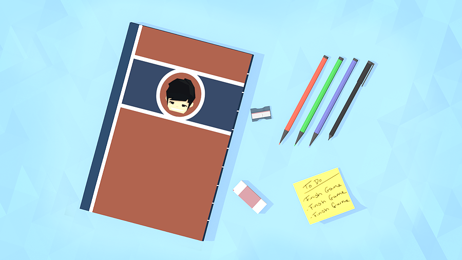 Stationery - 1st Entry Lowpoly Dailies