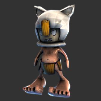 Lono 3D Model