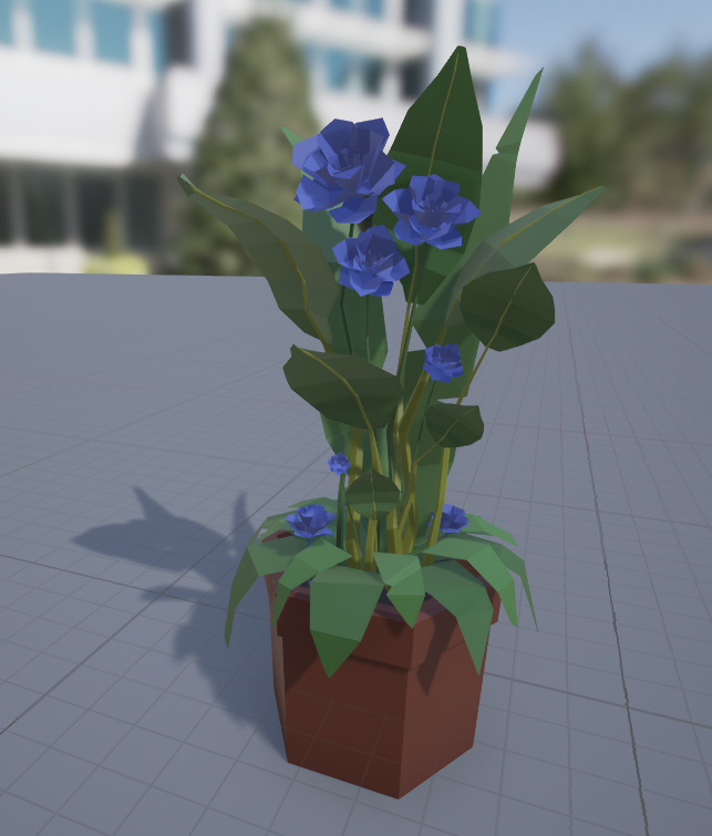 My Plant in UE4