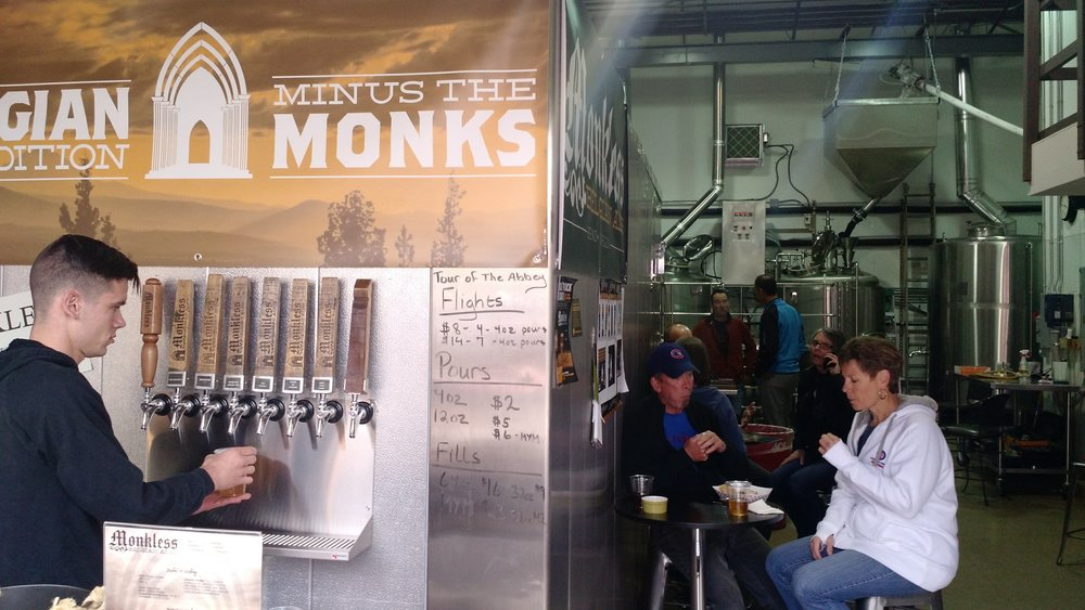 "Monkless Brewery has ""The Smell"""