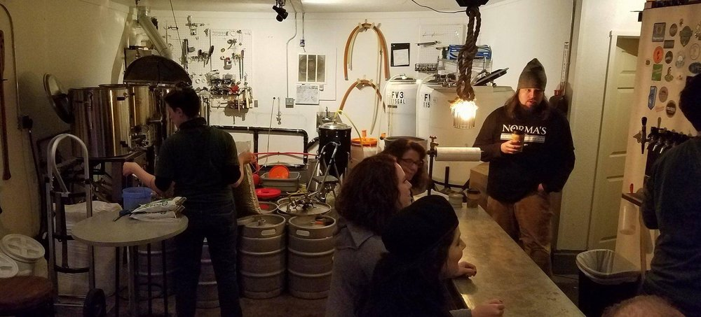 The worlds tiniest brewery. SO GOOD
