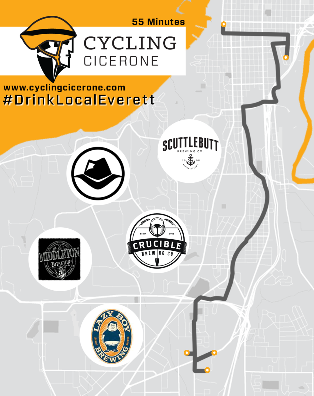 Cycling Cicerone Everett Breweries Flyer.png