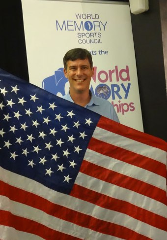 Brad has helped the USA to three top 10 finishes at the World Memory Championships,including 5th place (the highest ever for the USA) in 2012 and 2013.