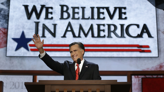 Mitt Romney Republic Convention
