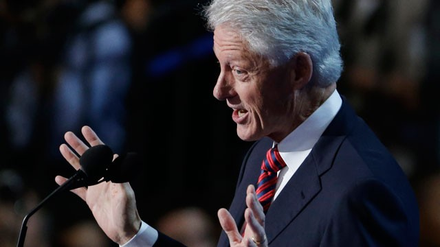 Bill Clinton's Big Mistake in Convention Speech