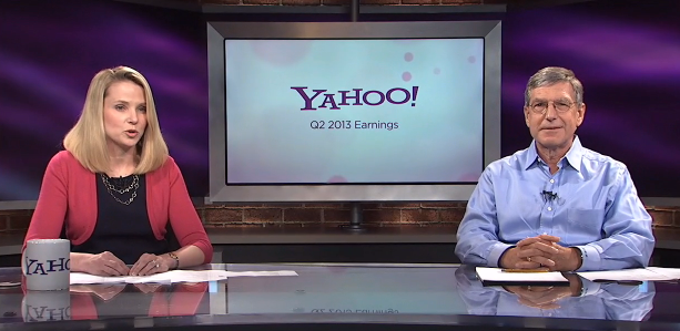 Yahoo CEO Meyer & CFO Goldman Earnings Conference Call