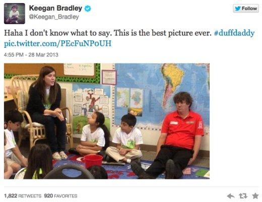 Keegan Bradley Dufnering Twitter